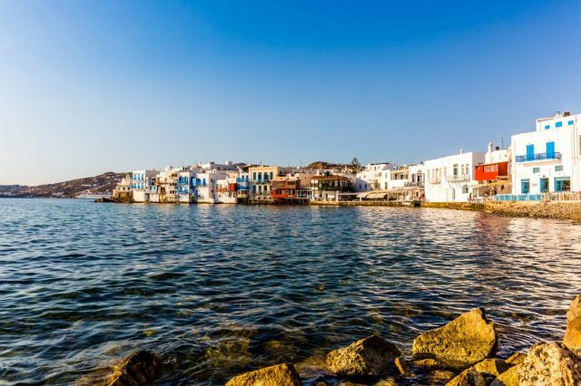 Mykonos, The Magic Hour of Sunset at Little Venice