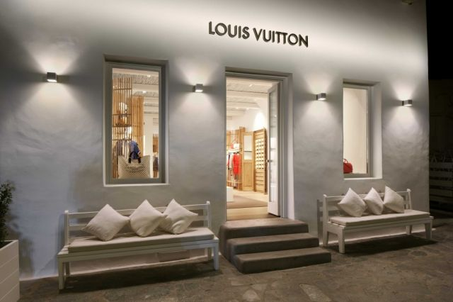 Louis Vuitton Boutique Mykonos