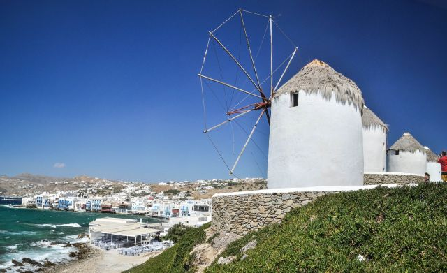 About Windmills in Mykonos